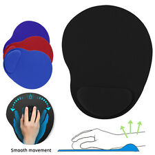 Ergonomic Comfortable Mouse Pad Mat With Wrist Rest Support Non Slip PC Mousepad