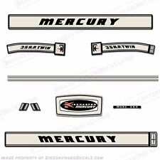 Mercury 1966 35hp Outboard Decal Kit - Reproduction Decals In Stock!