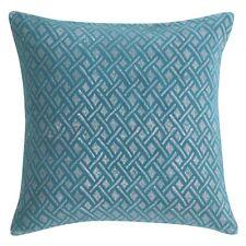Retro Neon Hutch Turquoise Blue 40x40cm Cushion Cover RRP $47.95 New AUS Seller