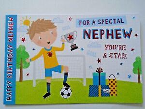 HAPPY BIRTHDAY FOR A SPECIAL NEPHEW - CUTE BIRTHDAY CARD