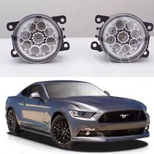 FORD MUSTANG FM GT HIGH POWER FULL LED FOG DRIVING LIGHTS 2015-2017