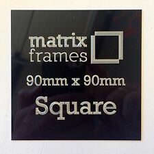 90 x 90 mm Engraved Plaque *Any inscription can by supplied* Trophies Frames
