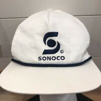 Vtg 80s 90s Sonoco Packaging Boone Iowa trucker hat cap snapback Made in USA