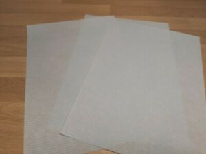 50 x A4  VISION BLUEBELL RIBBED TRANSLUCENT PAPER 90gsm