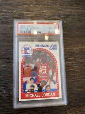 1989 nba hoops Michael  jordan all star Psa Slab