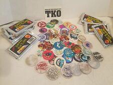 lot of 8 packs  Pogs Tko starter set milk caps and slammers new