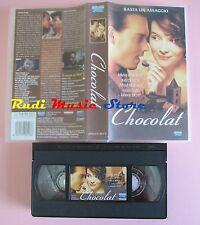 film VHS CHOCOLAT J. Binoche  Johnny Depp EAGLE PICTURES 118   (F33 * * ) no dvd