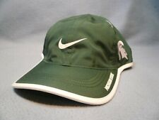 new concept 3b0c4 10f54 Nike Michigan State Spartans Featherlight Adjustable Hat Cap MSU