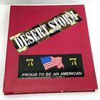 US Military Desert Storm Scrap Book