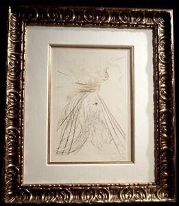 DALI Tristan et Iseult King Marc Hand Sig Dali Archives Certified Surreal ART