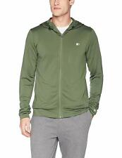 Starter Men's Lightweight Run Jacket with Hood Green Size Large