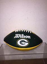 NFL GREEN BAY PACKERS WILSON BRAND FOOTBALL GUC