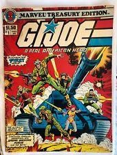 1982 - GI Joe A Real American Hero Comic #1 Marvel Treasury Edition From Estate