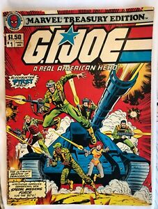 1982 - GI Joe A Real American Hero Comic #1 Marvel Treasury Edition From Estate