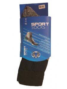 2 paires de chaussettes athlétiques pour hommes SPORT SOCKS
