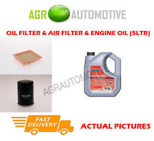 PETROL OIL AIR FILTER KIT + FS 5W40 OIL FOR NISSAN MICRA 1.0 54 BHP 1992-00