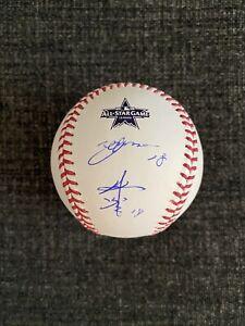 Yusei Kikuchi Signed Autographed 2021 All Star Baseball W/ KANJI Auto Mariners