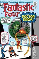 FANTASTIC FOUR VS DOCTOR DOOM #1  TRUE BELIEVERS MARVEL COMICS