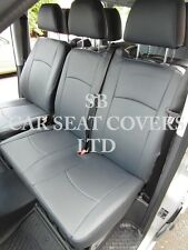 TO FIT A MERCEDES VITO VAN, SEAT COVER, DARK GREY LEATHERETTE MADE TO MEASURE
