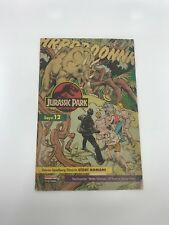 JURASSIC PARK #12 - Foreign Comic Book - 1990s - ULTRA RARE - Dinosaur - 4.0 VG