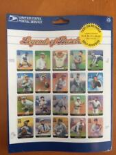 Legends of Baseball Mint Sheet of 20 x 33 Cent Stamps