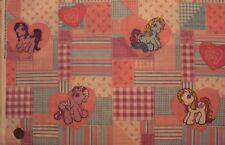 Vintage My Little Pony Fabric #1495 Spring Industries 2004 100% Cotton BTHY