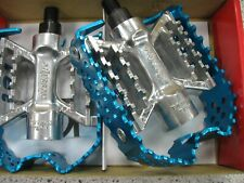 Odyssey Triple Trap Pedals BLUE 1/2 inch