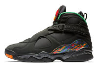 "Jordan Retro 8 ""Air Raid"" Black/Light Concord-Aloe Verde (305381 004)"