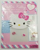 Hello Kitty Pink Magnetic List Pad With Ribbon And Hello Kitty Jumbo Chalk Set