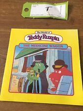 Teddy ruxpin bear  1985 book Medicine Wagon