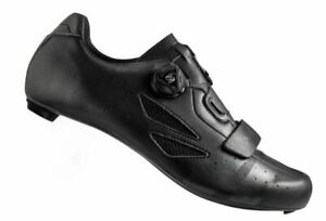 LAKE CX218 CARBON ROAD SHOES - BLACK/GREY Size EU 45.5 US 11.5  < NEW >