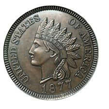 """Indian Head Cent Penny Coin 3"""" Metal Huge Oversized Novelty Paper Weight"""