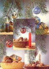 5 Original DDR Weihnachtskarten Grußkarten unterschiedliche Motive