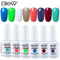 Elite99 8ml Nail Gel UV LED Gel Nail Polish Soak Off Lacquer Varnish Colour Coat