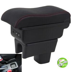 Dual Layer Armrest Box For Suzuki Swift 2005-2021 Center Central Storage Console