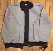 RBX Gray/Black Jacket Ladies XL XLarge $78 NEW NWT