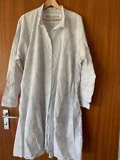 Rundholz Hemdblusen Kleid S ( Oversize) Weis Mit Kleinen Punkten