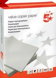 EVERYDAY A4 WHITE PAPER PRINTER COPIER 500 SHEETS 200902