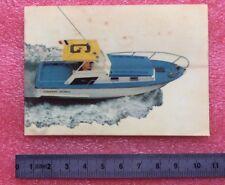 Autocollant GENDARMERIE Bateau Vedette Navette Boat Vintage Année 70/80