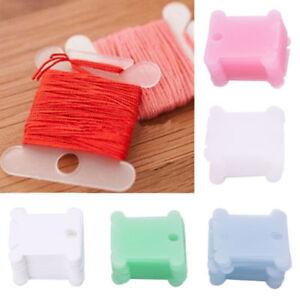100* Plastic Bobbins Embroidery Floss&Craft Storage Cross Stitch Thread Holder X