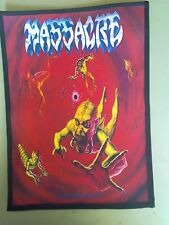 MASSACRE,FROM BEYOND,SEW ON SUBLIMATED LARGE BACK PATCH
