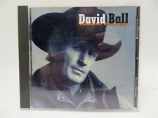 David Ball ♫ Thinkin' Problem ♫ Warner Brothers 45562-2 ♫ CD