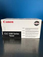 New Canon CLC-1100 1-Black, 1-Cyan, 2- Magenta, 2-Yellow Toners - Lot of 6