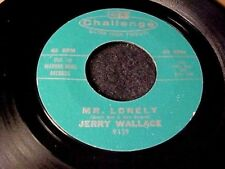 JERRY WALLACE~RARE MOD ROCKABILLY ROCKER/TEEN BALLAD 45 Original Challenge HEAR