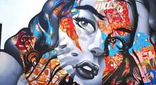 GRAFITTI STREET ART Oh mon Dieu énorme Art Imprimé Poster llfgz 0005