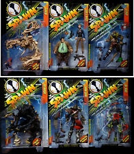 Spawn Series 7 Action Figure Set of 6 1997 First Zombie Spawn McFarlane Toys