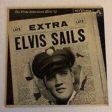 ELVIS PRESLEY Press Interviews RCA EPA-4325 Calendar Back 45 EP With Cover
