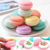 1pc Plastic Pill Case Candy Jewellery Storage Box Organiser Round Storage Bins F