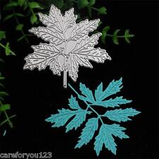Maple Leaf Cutting Dies Stencil For DIY Scrapbooking Embossing Album Paper Card