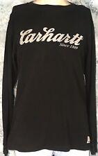 Vintage Style CARHARTT Since 1889 Work Wear LOGO Long Sleeve MEN'S S T-SHIRT